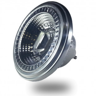 LED Спот лампа - GU10, 12W, AR111, Strahl 40, Sharp чип, Топло бяла светлина