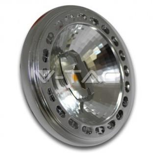 LED Спот лампа - AR111, 15W, 12V, Beam 40, Sharp чип, Дневна светлина