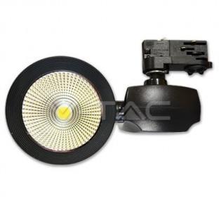 LED Релсов прожектор - 40W,...