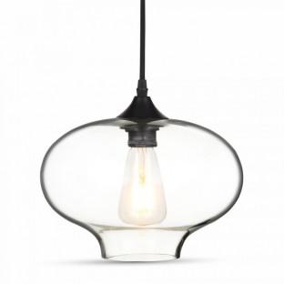 Pendant - E27, Ø280, Glass, Transparent, Sphere