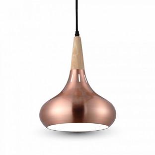 LED Пендел, Капка, червен бронз, Е27