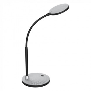 LED Настолна лампа, бяла, шайба, 5.5W, 3000K