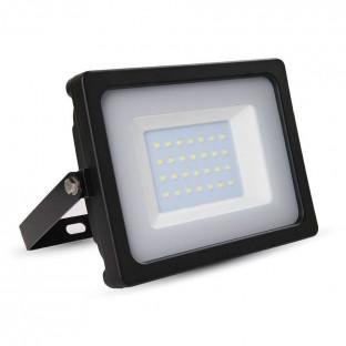 LED прожектор, SMD, черно тяло, 6400К, 30W