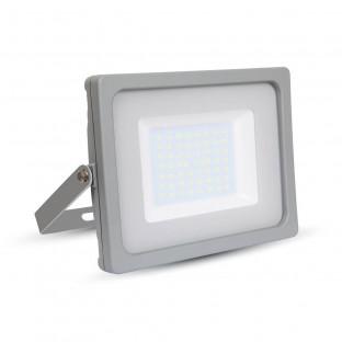 50W LED прожектор, SMD, сиво тяло , бяла светлина