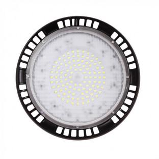 LED Камбана - 100W, SMD, UFO, 90 °, Бяла светлина