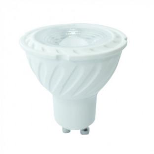 LED Крушка - GU10, 7W, Samsung чип, 5 години гаранция, Топло бяла светлина