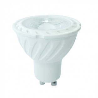 LED Крушка - GU10, 7W, Samsung чип, 5 години гаранция, Бяла светлина