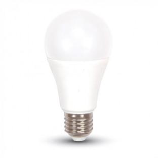 LED Крушка - E27, 11W, A58, Samsung чип, 5 години гаранция, Топло бяла светлина