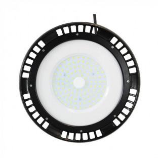 LED Камбана UFO - 100W, A++, Meanwell, Бяла Светлина, 5 год. Гаранция, 90°