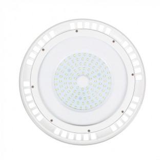 LED Камбана UFO - 100W, SMD, Бяло Тяло, Бяла Светлина, 120°