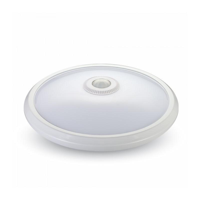 LED Плафониера със сензор - 12W, Дневна светлина