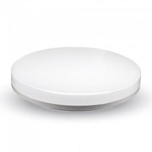 LED Плафон Frameless - 15W, Кръг, Топло бяла светлина