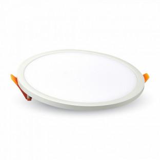 LED Frameless панел - 29W, Кръг, Топло бяла светлина