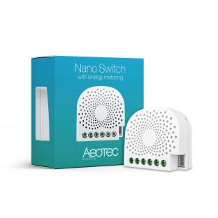 Превключвател Aeotec Nano с измерване на мощността