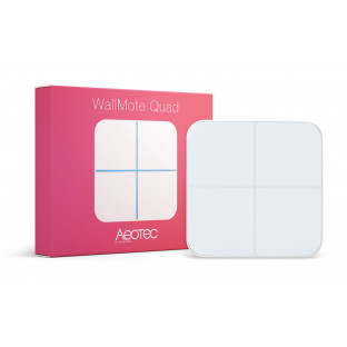 Aeotec WallMote Quad - Дистанционен ключ с 4 бутона