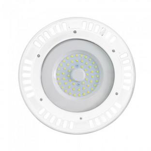 LED SMD Камбана UFO - 50W, 120°, Бяло тяло, Топло бяла светлина
