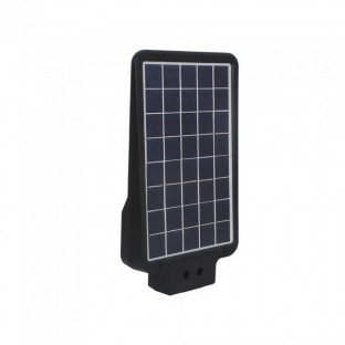 LED Соларна yлична лампа - 15W, Черно тяло, Дневна светлина