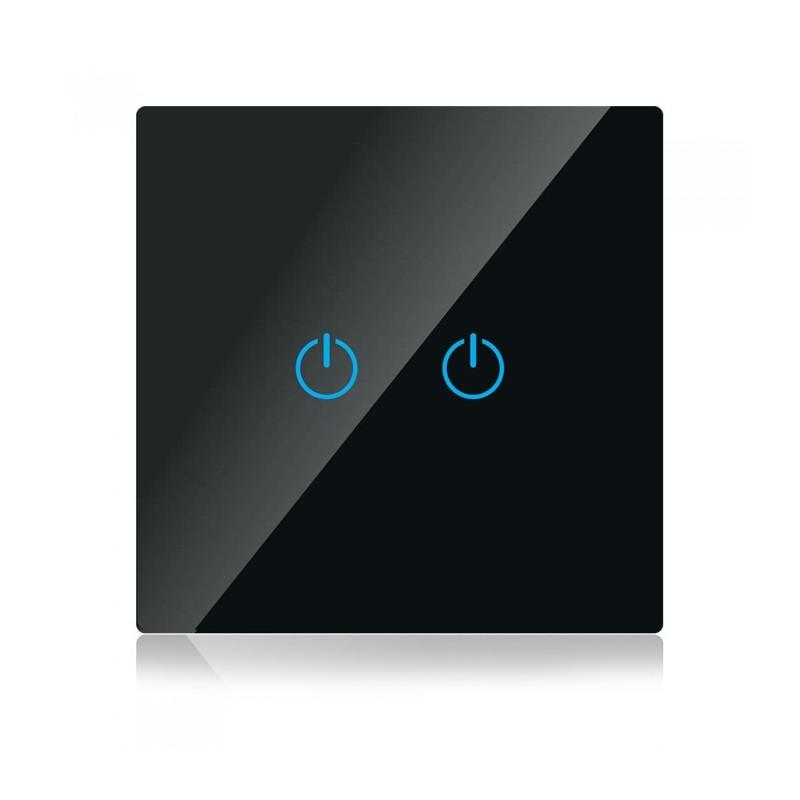 WIFI smart touch ключ - Сериен, черен, Съвместим с Amazon Alexa и Google Home