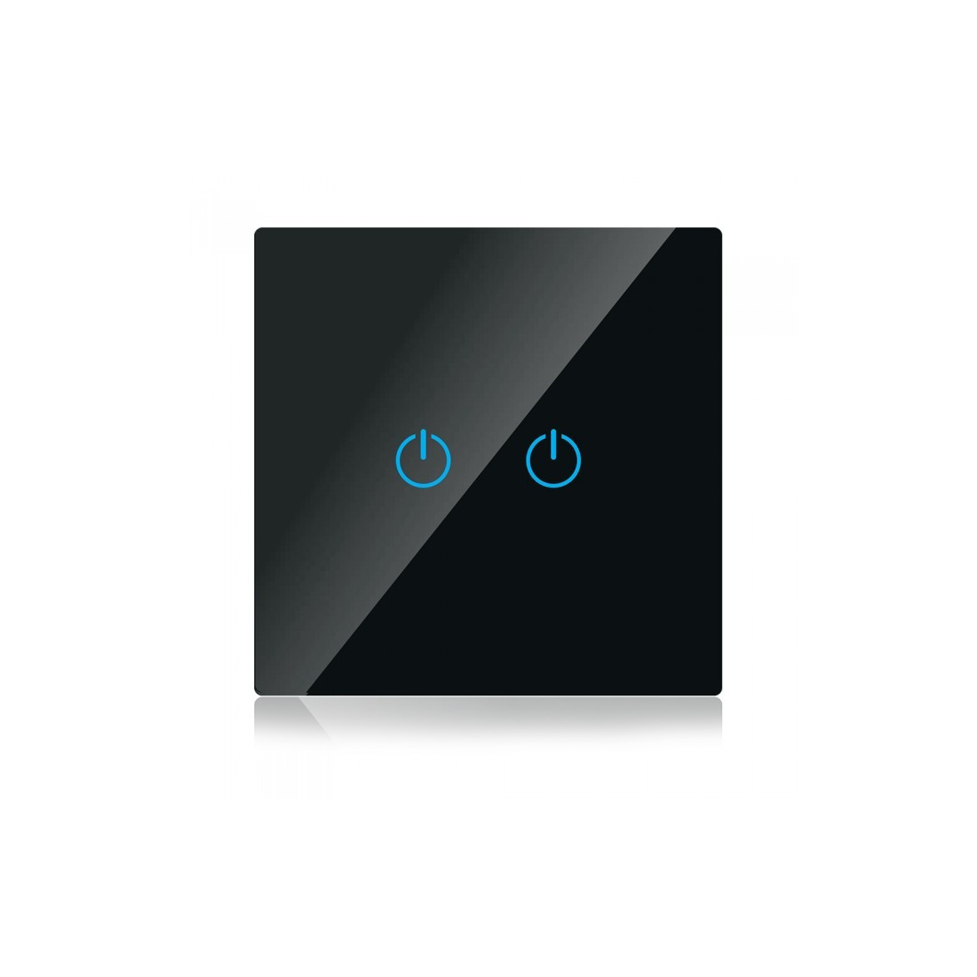 wifi smart touch switch compatible with amazon alexa and google home. Black Bedroom Furniture Sets. Home Design Ideas
