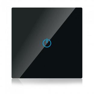 WIFI smart touch ключ - Сериен, черен, Единичен, Съвместим с Amazon Alexa и Google Home