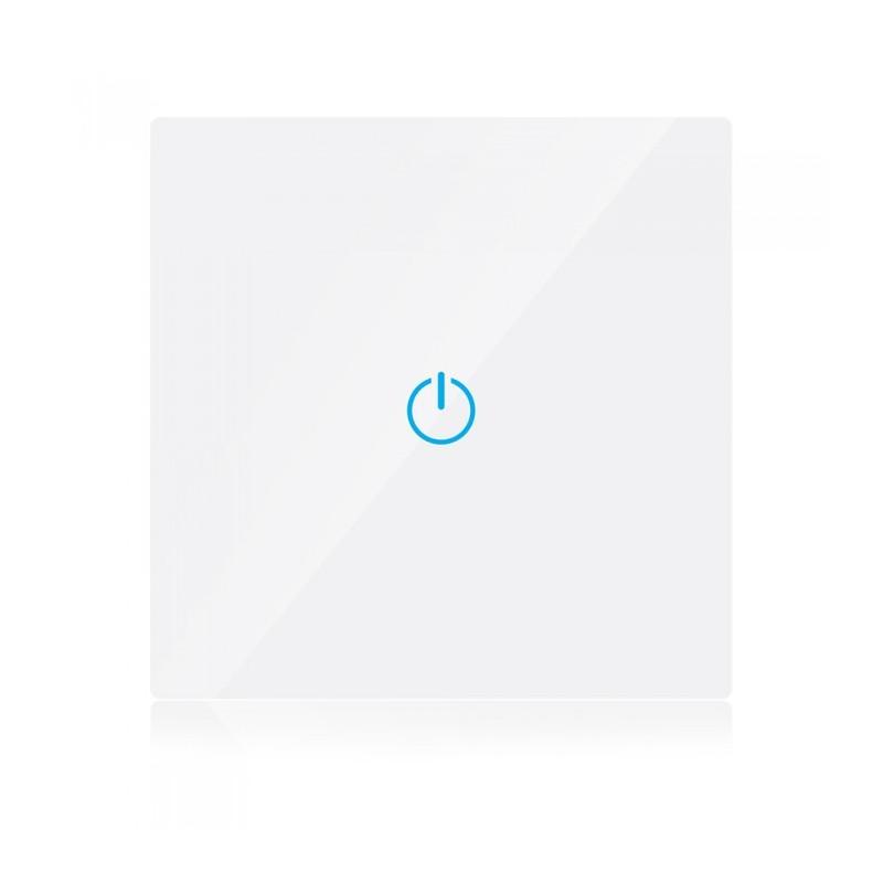 WIFI Smart touch ключ - Сериен, Бял, Единичен, Съвместим с Amazon Alexa и Google Home