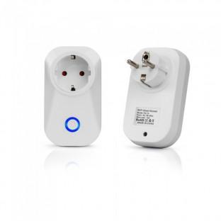 WIFI Smart контакт - Преносим, Съвместим с Amazon Alexa и Google Home