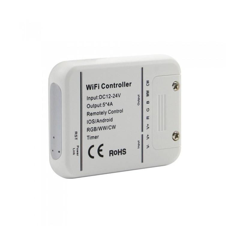 WIFI Smart Контролер за лента - 220V, Съвместим с Amazon Alexa и Google Home