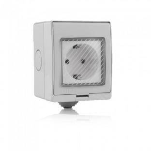 WIFI Smart plug - Waterproof, IP55, Compatible with Amazon Alexa and google home