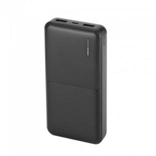 Външна батерия 20000 mAh - черна