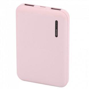 Външна батерия 5000 mAh - розова