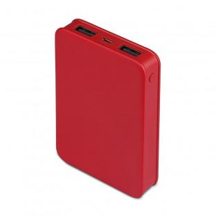 Външна батерия 5000 mAh - Червена