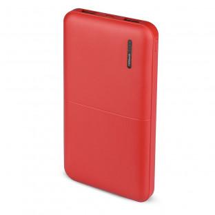 Външна батерия 10000 mAh - червена
