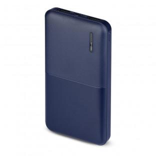 Външна батерия 10000 mah - тъмно синя