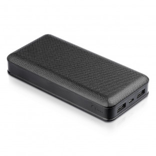 Външна батерия 20 000 mAh - Черна