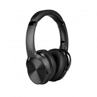Bluetooth слушалки с ротация - 500mAh, черни