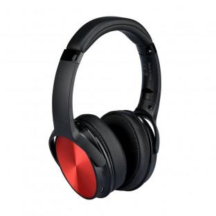 Bluetooth слушалки с ротация - 500mAh, червени