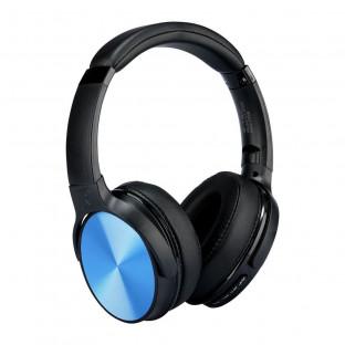 Bluetooth слушалки с ротация - 500mAh, сини