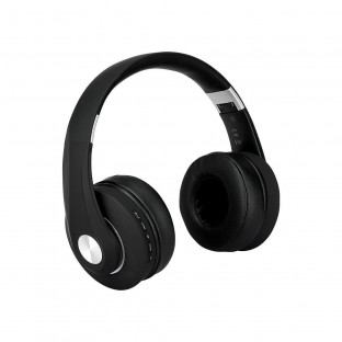 Bluetooth headset with adjustable head - 500mAh, black