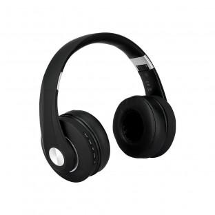 Bluetooth слушалки регулируеми - 500mAh, черни
