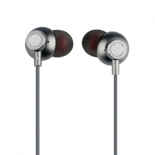 Аудио слушалки - сиви