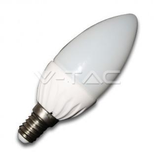 LED Крушка - E14, 4W,...