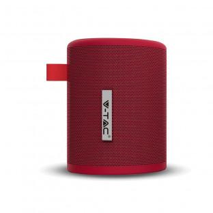 Преносима bluetooth колонка - 1500 mAh, FM радио, червена
