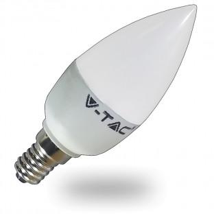LED Крушка - E14, 6W,...