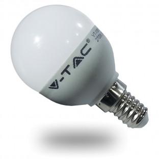 LED Крушка - E14, 6W, P45,...