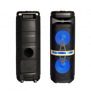 Преносима Колона - 120W, включени жичен и безжичен микрофон