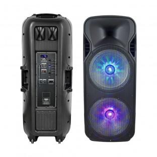 Преносима Колона - 150W, включени жичен и безжичен микрофон