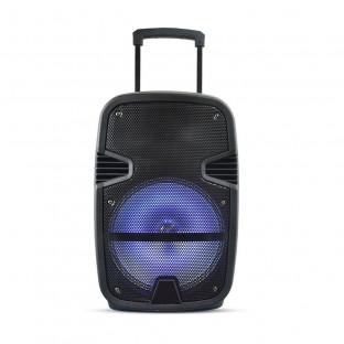 Преносима Колона - 35W, включен жичен микрофон, RGB LED цветове