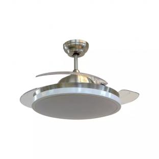 Вентилатор за таван с LED осветление - 30W, дистанционно управление