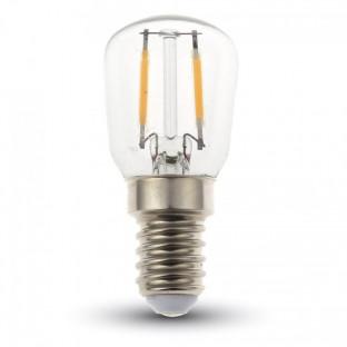 LED Крушка - E14, 2W, ST26, Бяла светлина