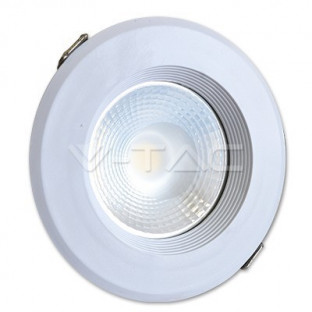 LED Луна - 20W, COB чип, 10W тяло, Топло бяла светлина